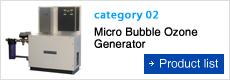 Micro Bubble Ozone Generator
