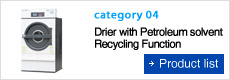 Drier with Petroleum Solvent Recycling Function